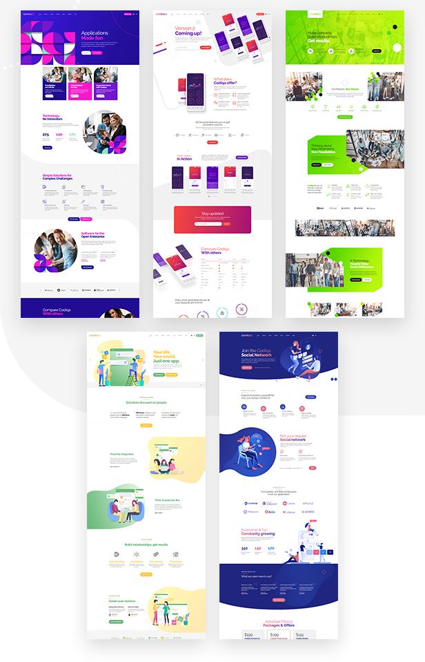 Codiqa - Software and App WordPress Theme - 4