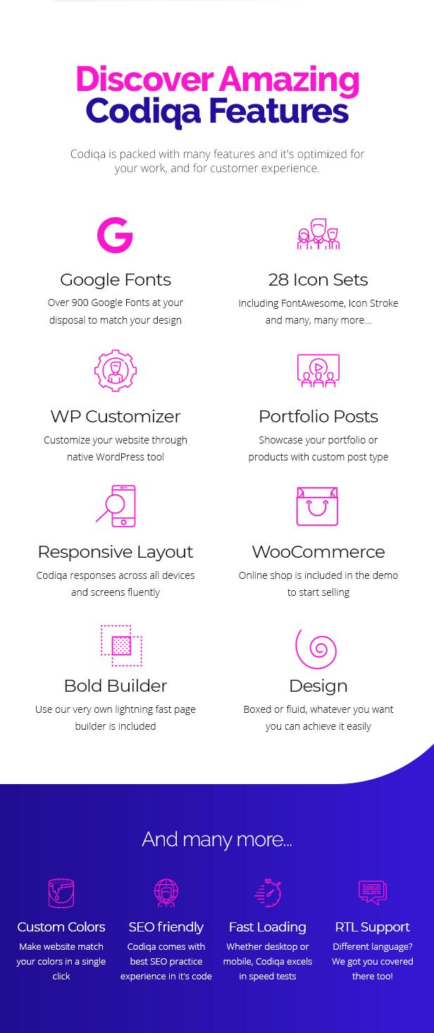 Codiqa - Software and App WordPress Theme - 7